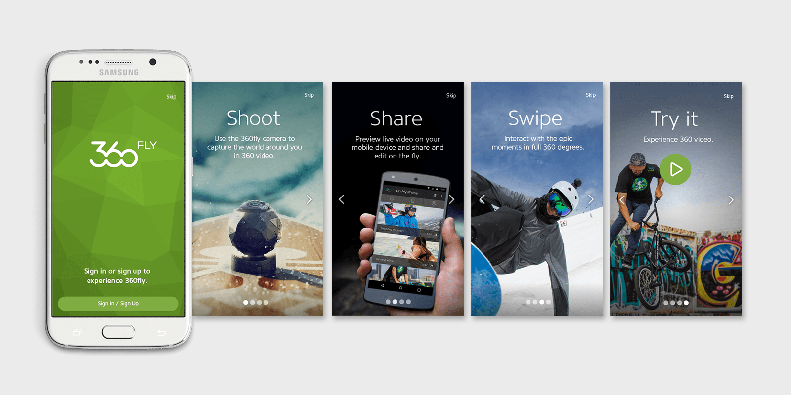 Onboarding Android App