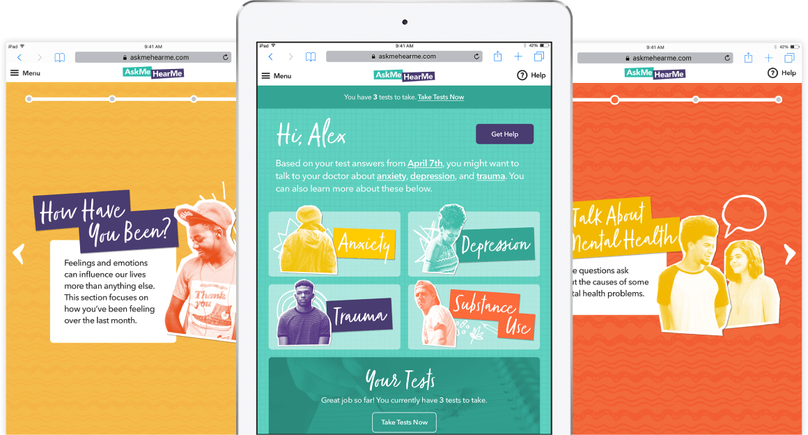 Envisioned And Developed A Web App For Mental Health Literacy. Heathcare App  Design