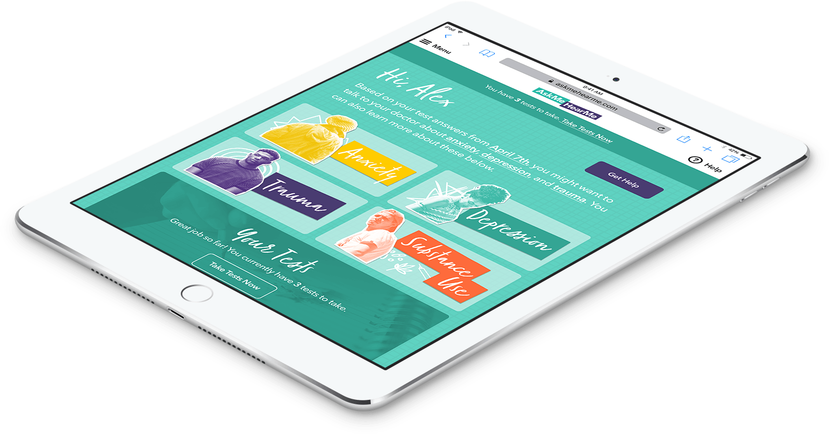 iPad Application for Healthcare